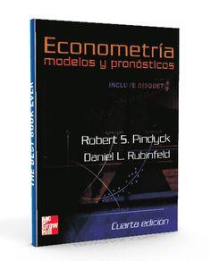 Econometria modelos y pronósticos – Robert Pindyck – PDF  #econometria #pronosticos #LibrosAyuda  http://librosayuda.info/2016/04/20/econometria-modelos-y-pronosticos-robert-pindyck-pdf/