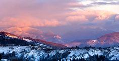 Fading light - Sunset over Postavaru Massif