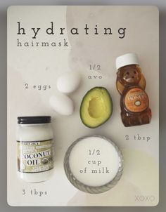 Source: pinterest | #wittyvows #bridesofwittyvows #haircare #hairgoals #hairgrowth #hydration #haircaretips #haircareproducts #hairgrowthfaster #natural #remedies #tips #tricks #healthyhair #healthyhacks #healthyhaircaretipsforwomen #potd #trendy #trendinghairstyle Hydrating Hair Mask, Diy Beauty Secrets, Face Care Routine, Hydrate Hair, Diy Scrub, Doterra Essential Oils, Hair Care Tips, Diy Makeup, Diy Hairstyles
