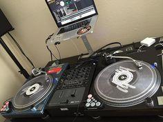 @djchrisvilla rockin' our clear @serato control vinyl.  #DJcityDJs by djcity http://ift.tt/1HNGVsC