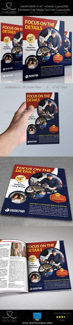 Car Services Flyer Template
