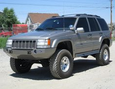 Jeep ZJ - Plastic Bumper for increased approach angle 1999 Jeep Grand Cherokee, Jeep Grand Cherokee Laredo, Cherokee Nation, Jeep Zj, Jeep Truck, Jeep Scrambler, Jeep Baby, Jeep Mods, Off Road