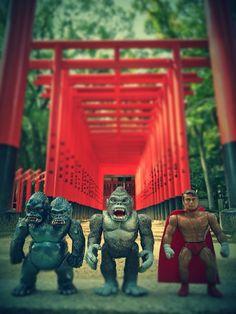 king gorilla-ju King Kong MisterXman in JAPAN