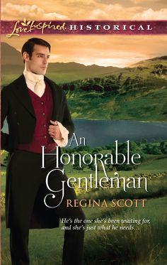 Regina Scott - An Honorable Gentleman / #awordfromJoJo #CleanRomance #ChristianFiction #ReginaScott