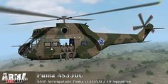 South African Air Force Puma 330c Military Helicopter, Military Aircraft, South African Air Force, Military Branches, Defence Force, Aviation Art, Armed Forces, Location History, Fighter Jets