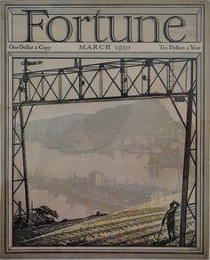 vintage fortune magazine cover 1930