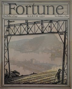 vintage fortune magazine cover 1930