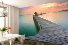 """Decorare una parete con la Carta da parati """"effetto 3D""""… Un risultato Grandioso!!! 20 esempi…"""