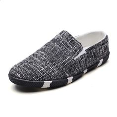 fd119abe0d7d 2018 sommer Herre Sko Breathable Herre Hamp Sko Billige lofers Casual  Walking Sko Slip Lazy Shoes Fashion Man Fodtøj