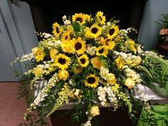 Mixed yellows: Mary & Martha's Florist