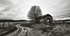 Fallen house (blacksmith) - Förfallet hus (Smedja)