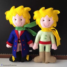 The Little Prince felt doll by HomeMadebyArtemi on Etsy, €25.00
