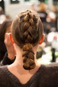 Hair by @Redken Canada #Hairstyle #Braid #FashionWeek
