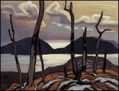 Reproduction print by Group of Seven artist Lawren Harris North Shore Lake Superior Pic Island 2 - Group Of Seven Print Group Of Seven Artists, Group Of Seven Paintings, Tom Thomson, Canadian Painters, Canadian Artists, Abstract Landscape, Landscape Paintings, Emily Carr Paintings, Lake Superior