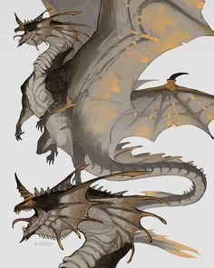 A dear friend's dragon OC. This wind dragon specializes in flying faster than any of the dragon specious and have powerful wind powers Mythical Creatures Art, Mythological Creatures, Magical Creatures, Fantasy Creatures, Fantasy Monster, Monster Art, Creature Concept Art, Creature Design, Fantasy Dragon