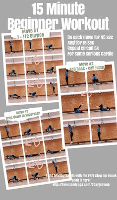 The best 15 minute workout to get moving and start your day! Workout at home with this fun and intense exercise routine. You will tone up all over and love getting fit. Do it with me right now - it's free and you don't need any equipment. Click for more workouts like this! . . . . #tonedarms #getfit #athomeworkouts #workoutroutine #workoutathome #15minuteworkout #workoutsforbeginners #fatlossworkouts