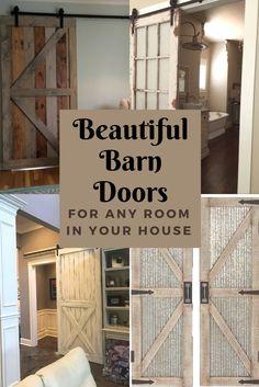Beautiful Barn Doors! #ad