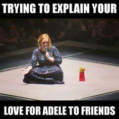 So true 😂😂😂😂😂 Adele Meme, Adele Funny, Adele Quotes, Adele Tour, Adele 19, Adele Adkins, Adele Music, Adele Singer, Adele Weight