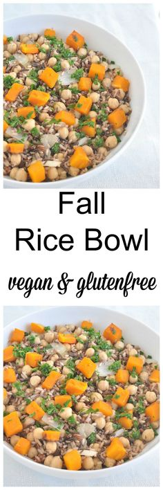 Get all the flavors of fall in this healthy bowl of yum. Vegan and gluten free. Easy and healthy recipe.