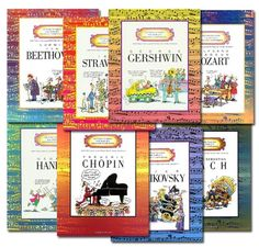 World's Greatest Composers unit study from Confessions of a Homeschooler Music Lesson Plans, Music Lessons, Music Bingo, Music Activities, Movement Activities, Piano Teaching, Music Classroom, Music Teachers, Music Composers