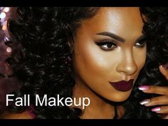 rose gold makeup palette for black women Makeup Videos, Makeup Tips, Beauty Makeup, Black Girl Makeup, Girls Makeup, Fall Lips, Rose Gold Makeup, Fall Makeup Looks, Dark Skin Makeup