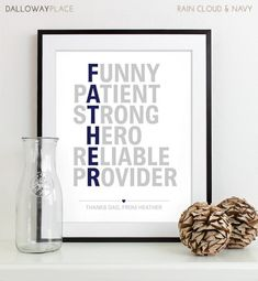 Another great Father's Day gift idea:)