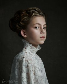 Life Mimicking Art | Portrait Photographer Shoots In The Way Of Master Baroque Painters