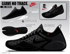 Nike black shoe