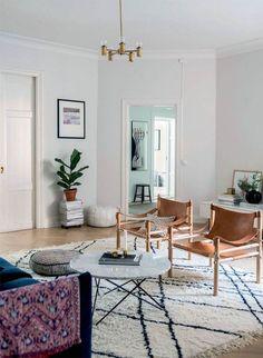 Safari chairs / Safari / Kaare Klint / my scandinavian home: A delightful family home in Stockholm