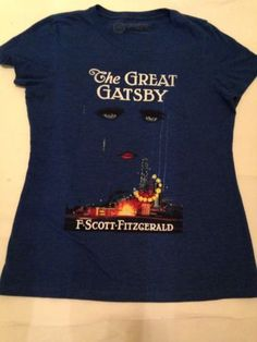 Out of Prints The Great Gatsby First Editon Women's Graphic T-Shirt Size XLarge $20 #greatgatsby #ilovemovies #graphictees #juniors #outofprints