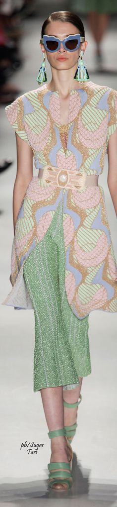 Multi color sequin look for Gig Couture - Spring 2016