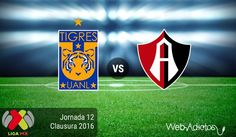 Tigres vs Atlas, Jornada 12 del Clausura 2016 ¡En vivo por internet! - https://webadictos.com/2016/04/02/tigres-vs-atlas-j12-clausura-2016/?utm_source=PN&utm_medium=Pinterest&utm_campaign=PN%2Bposts
