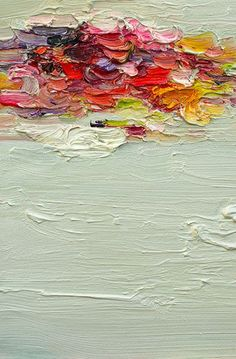 Abstract Painting Island Print