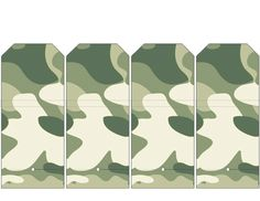 Army Camouflage Sucker Covers .... free to use and free to share for personal use. <3
