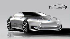 Ford Electric Coupe on Behance