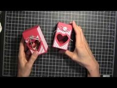 Stampin' Up! Valentine Treat Box - YouTube