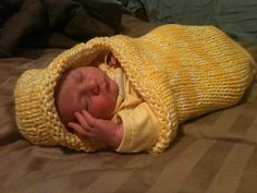 Crochet baby cocoon, Santa stocking and Baby cocoon on Pinterest