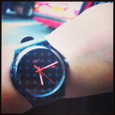 My new Swatch: special edition for the French Open 2013! M' loving it! #swatch