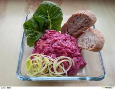 Červená řepa-salát recept - TopRecepty.cz Czech Recipes, Ethnic Recipes, Cooking Recipes, Healthy Recipes, Vegetable Salad, Beets, Cabbage, Salads, Spaghetti