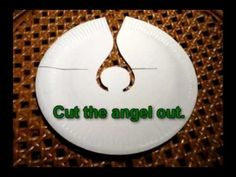 Best Photos of Paper Cut Out Angel - Angel Cut Out Template, DIY ...
