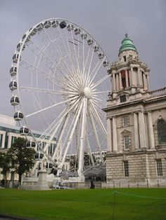City Hall & Belfast Wheel, Belfast