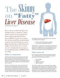 The SKINNY on FATTY Liver Disease