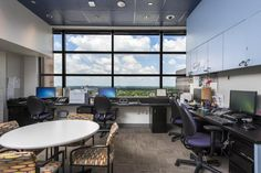 The Zone staff got a new office space as part of the renovation project. Photo: Allen S. Kramer/Texas Children's Hospital
