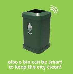#Tecnologia: #Cestini per i rifiuti che avvertono quando sono da svuotare da  (link: http://ift.tt/1qaQ4oe )