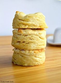 This biscuit recipe is so basic  you'll want to whip them up for anything from biscuits and gravy to fried chicken and everything in between!  Spice up these biscuits by adding savory ingredients!