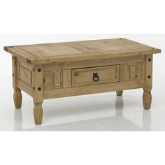 Monterrey Mexican Style Traditional Solid Pine Coffee Table