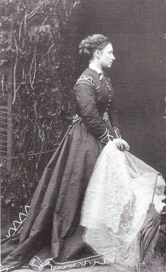 Princess Louise Duchess of Argyll (the sixth child of Queen Victoria and Prince Albert), Balmoral, 1868