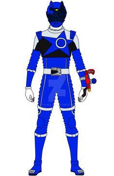 Here's from the upcoming Uchu Sentai Kyuranger, Ookami Blue. I totally shrewed up the furry details. But atleast the helmet looks decent. Pawer Rangers, Pokemon, Mac, Hero, Deviantart, Guys, Predator, Blue, Disney