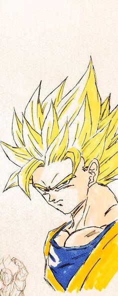 Goku「超2悟空」/「dragontama7」のイラスト [pixiv]