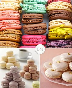 Let them eat macarons.